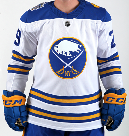 The Buffalo Sabres 2018 Bridgestone NHL Winter Classic uniform. (Submitted photo)