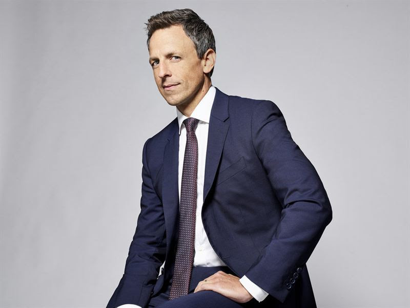 Seth Myers will host the Golden Globes in January. (NBC photo)