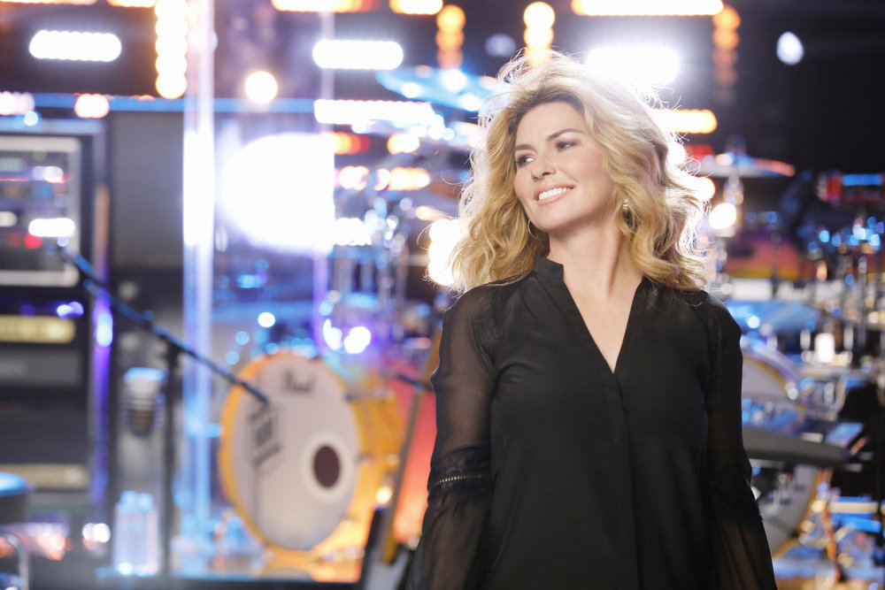 Among her notable career achievements, Shania Twain worked with the singers and coaches on NBC's `The Voice` this past cycle. She also performed Friday on `Today.` (NBC photo by Trae Patton)