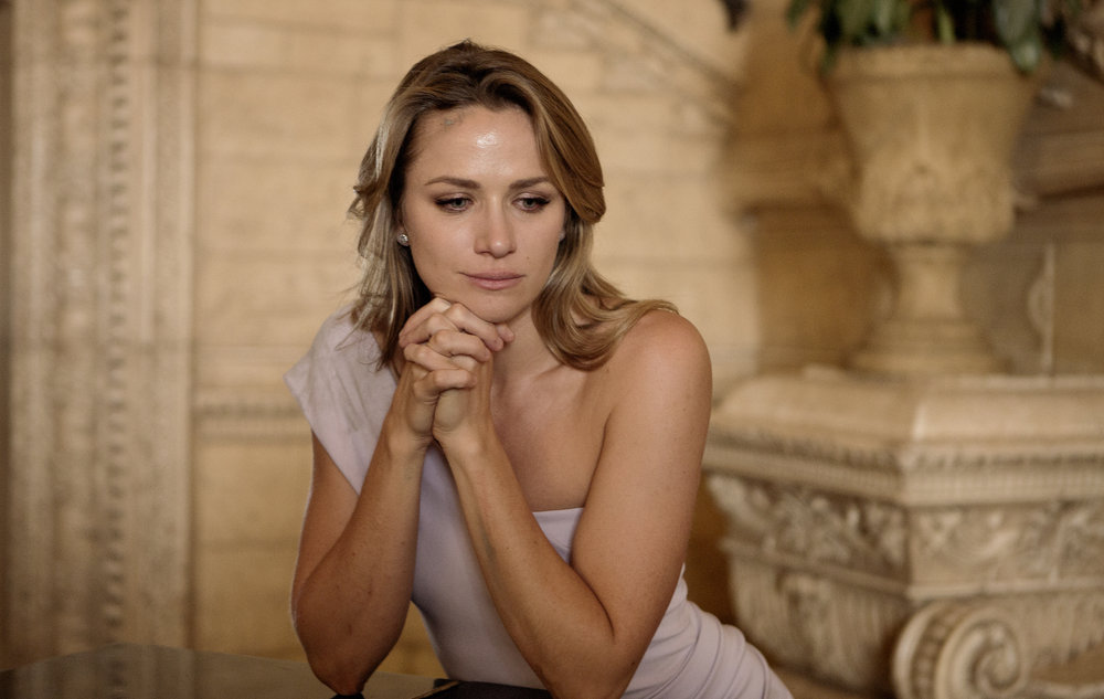 Shantel VanSanten stars as Julie Swagger on `Shooter.` (USA Network photo by Isabella Voskmikova)