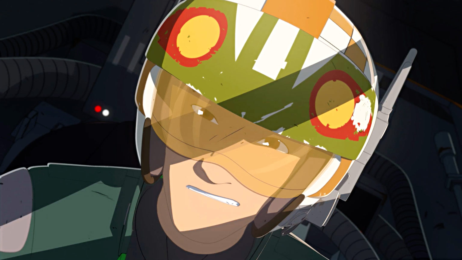 `Star Wars Resistance,` a new animated series that takes place prior to the events of `The Force Awakens,` takes flight with a one-hour premiere Sunday, Oct. 7 (10 p.m. EDT/PDT), on Disney Channel. (Lucasfilm)