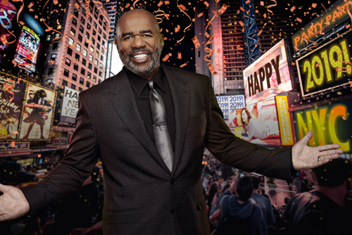 Steve Harvey will welcome 2019 on FOX. (FOX Broadcasting Co. photo)