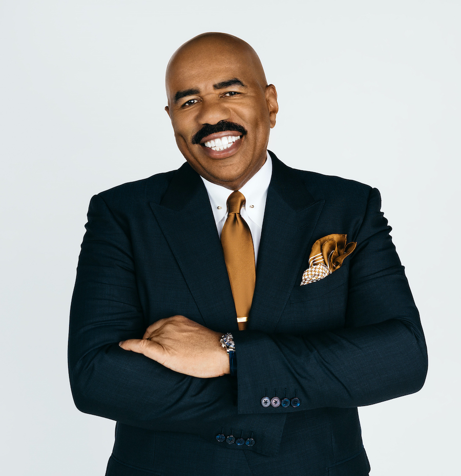 Emmy Award-winning entertainer, producer and television host Steve Harvey returns to count down to 2020 on `FOX's New Year's Eve with Steve Harvey: Live from Times Square.` (Cr: FOX. © 2020 FOX MEDIA LLC.)