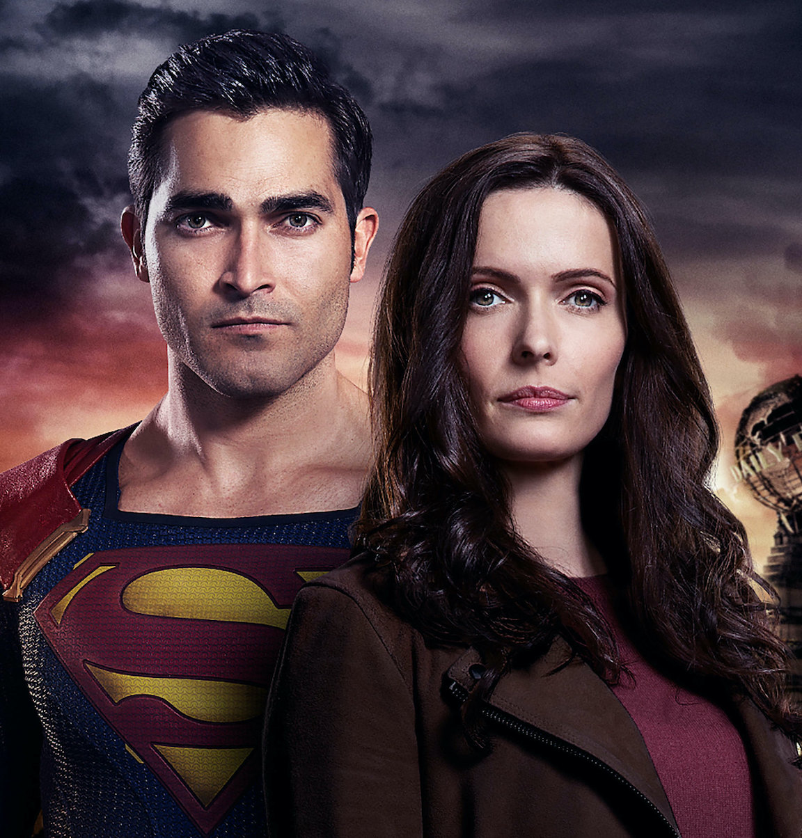 `Superman & Lois`: From left, Tyler Hoechlin as Superman and Elizabeth Tulloch as Lois Lane. (Photo by The CW/©2020 The CW Network LLC/all rights reserved)