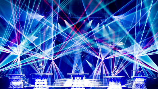 TSO live on stage. (Photo by Jason McEachern provided by Scoop Marketing)