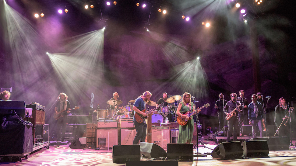 Tedeschi Trucks Band on stage. (Photo: On Tour PR/Marc Lowenstein)