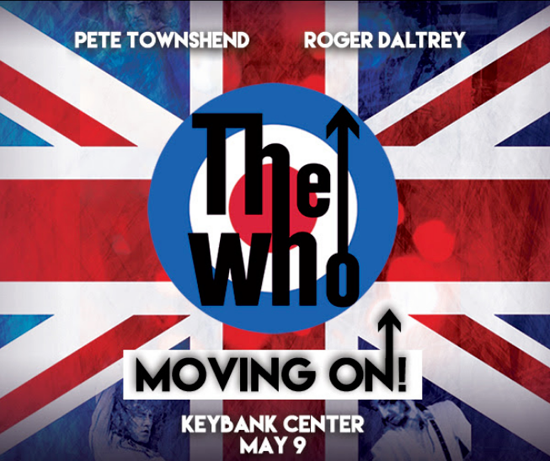 The Who (Image courtesy of KeyBank Center)