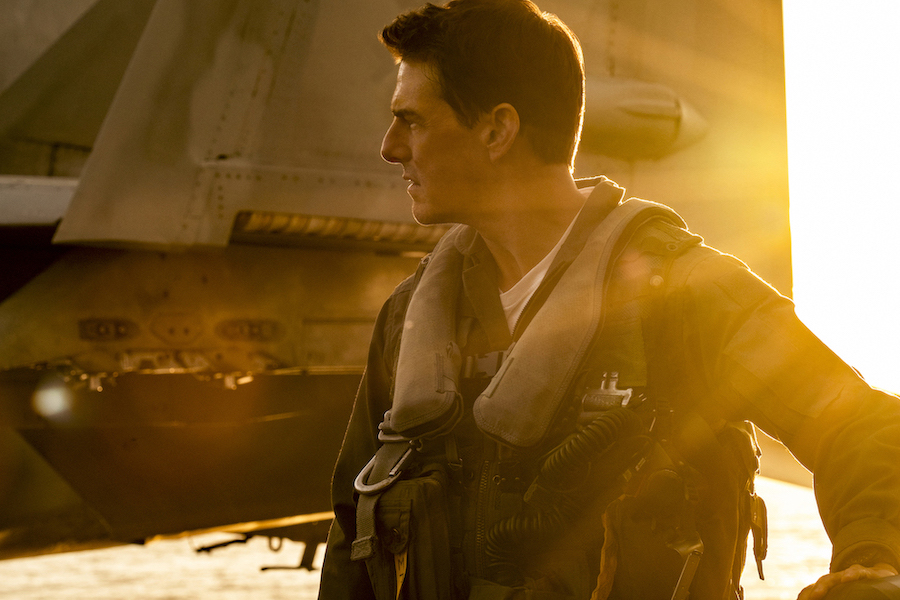 Tom Cruise plays Capt. Pete `Maverick` Mitchell in `Top Gun: Maverick` from Paramount Pictures, Skydance and Jerry Bruckheimer Films. (Credit: Scott Garfield. ©2019 Paramount Pictures Corporation. All rights reserved. Courtesy of EPK.TV)