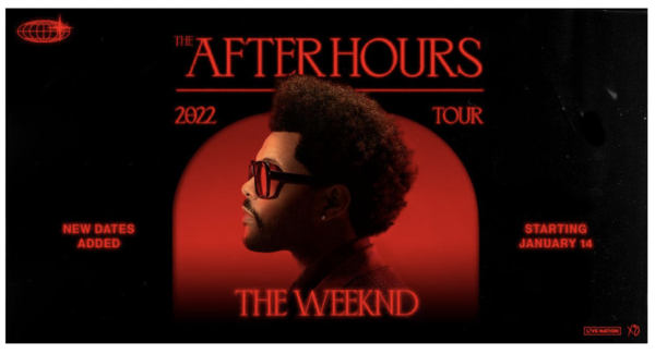 The Weeknd is headed back out on tour in 2022. (Image courtesy of Scoop Marketing)
