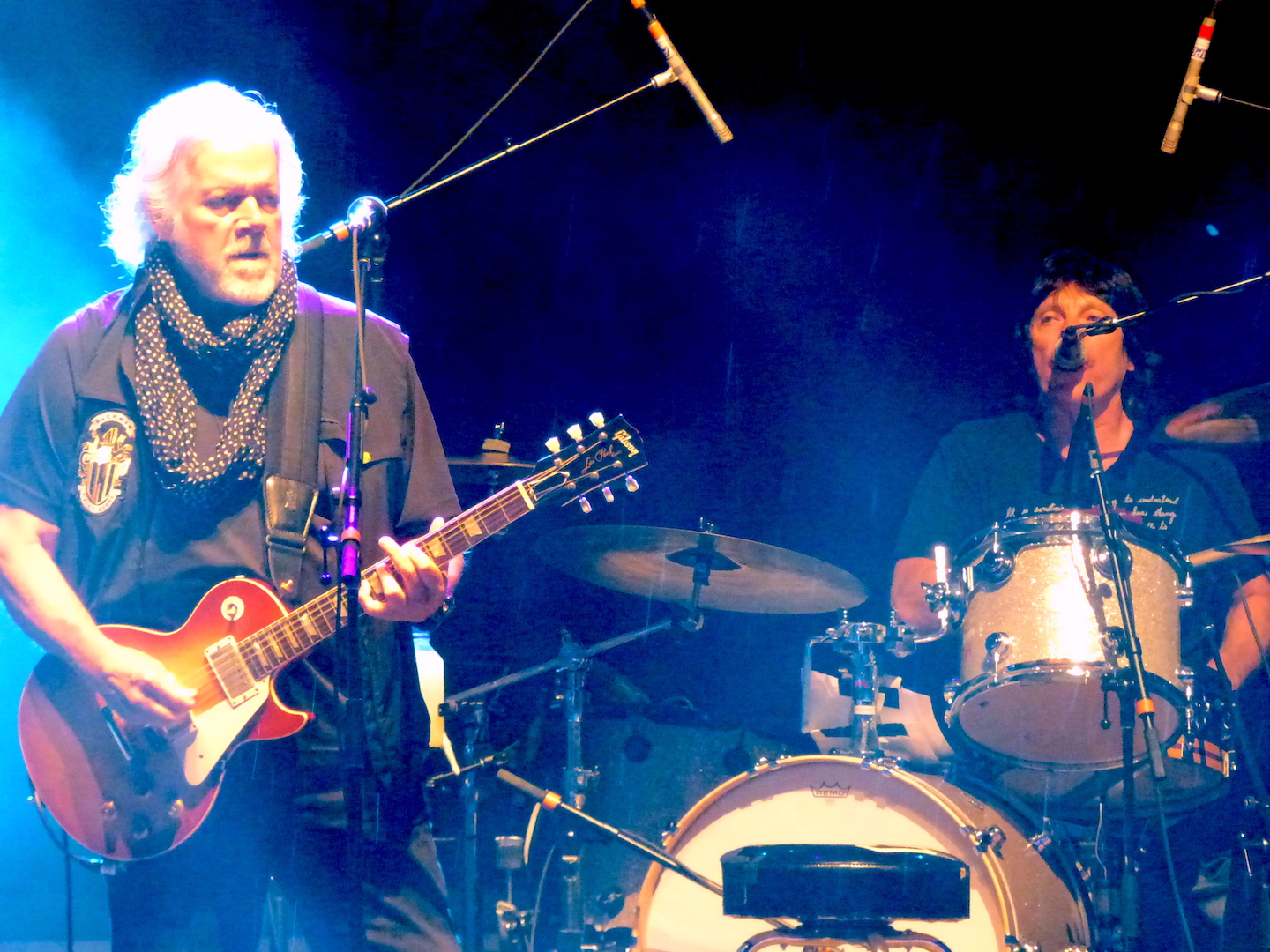 Despite a delay, then rain, Randy Bachman performed a full set at Artpark.