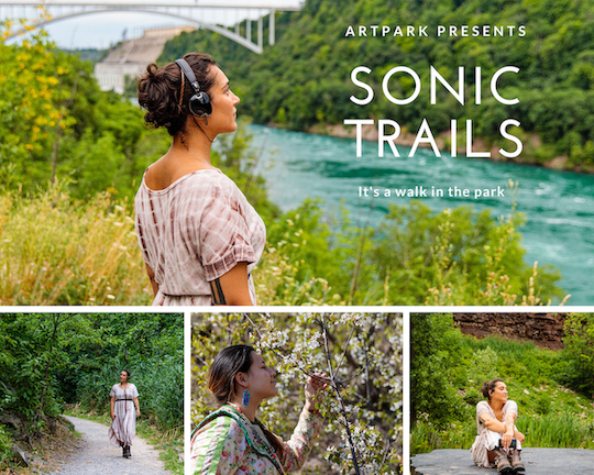 Artpark will debut `Sonic Trails` this summer. (Images courtesy of Artpark/Michelle Tabnick PR)