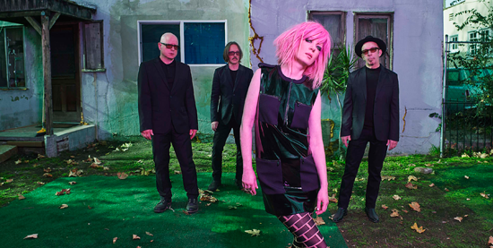 Garbage performs July 25 at Artpark. (Photo by Joseph Cultice)