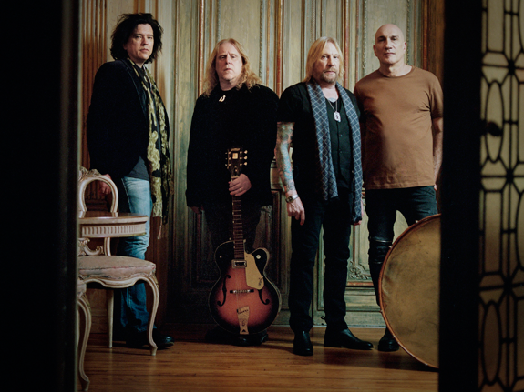 Warren Haynes (with guitar) and Gov't Mule will perform at Artpark. `We're looking forward to it. It's always a great audience there,` he said. (Photo credit: Jacob Blickenstaff)