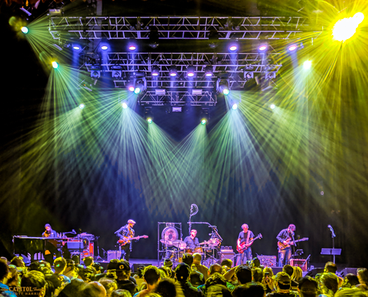 Joe Russo's Almost Dead on stage at The Capitol Theatre. (Image by Scott Harris, provided by Artpark & Company)