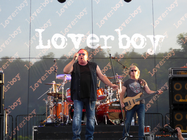 Loverboy performs at Artpark.