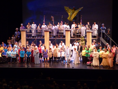 `Artpark Bridges` participants are shown in the 2018 production of `The Odyssey.`