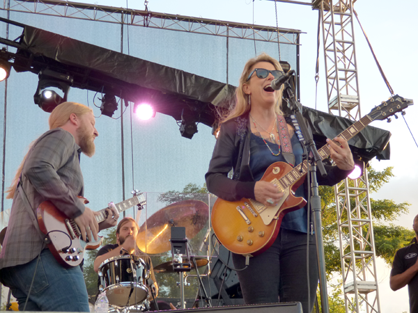 Tedeschi Trucks Band is shown performing at Artpark in 2018.