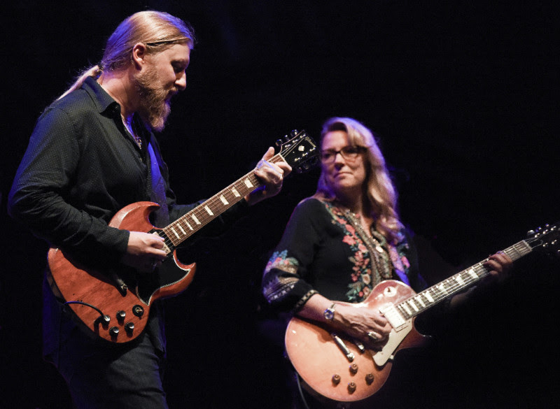 Derek Trucks and Susan Tedeschi of Tedeschi Trucks Band. TTB returns to Artpark on Tuesday. (Photo by Greg Logan; provided by On Tour PR)