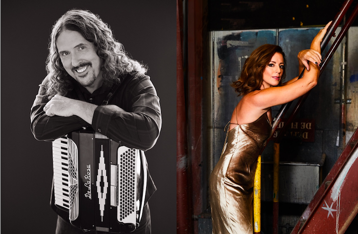 `Weird Al` Yankovic and Sarah McLachlan will headline concerts this month at Artpark. (Photo one submitted; photo two by Kharen Hill)