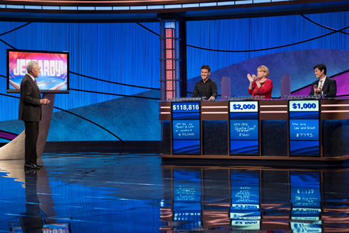 James Holzhauer continues to cruise on `Jeopardy!` (Image courtesy of Jeopardy Productions Inc.)