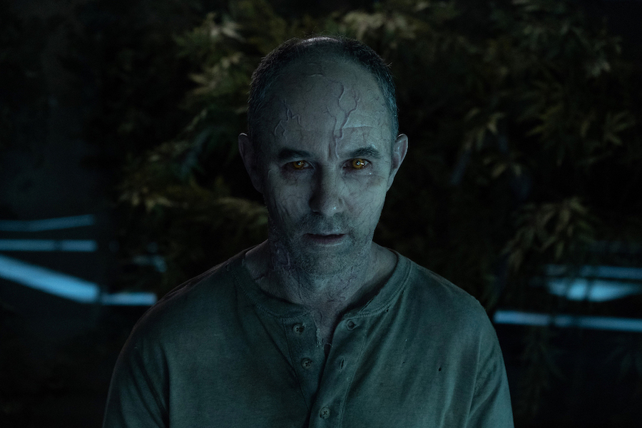`The Passage`: Jamie McShane ponders and plots as Dr. Tim Fanning. (©2019 FOX Broadcasting. Cr: Erika Doss/FOX)