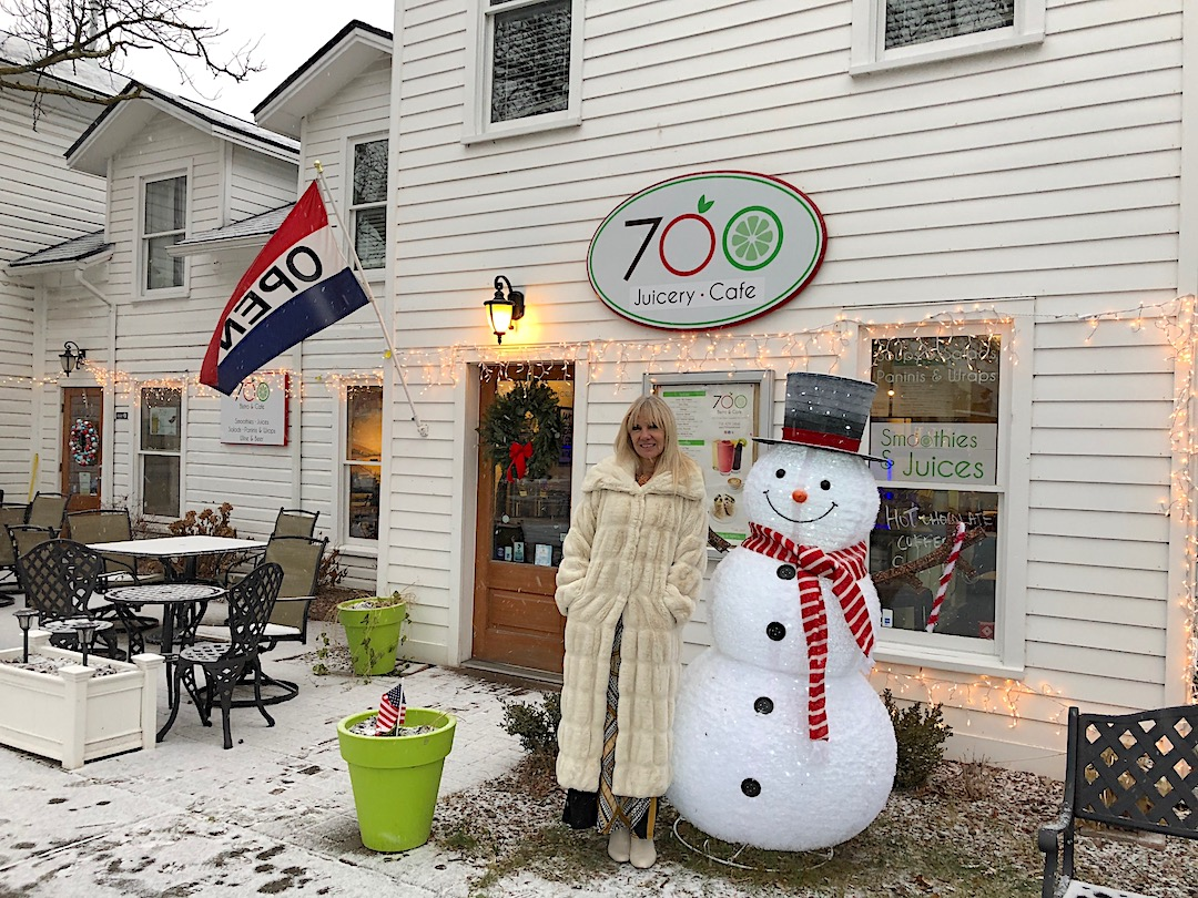 Barbara Crouthamel at 700 Cafe & Bistro, which is located on the corner of Center and North Seventh streets in Lewiston.