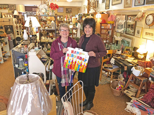 Antique to Chic in the Village of Lewiston.