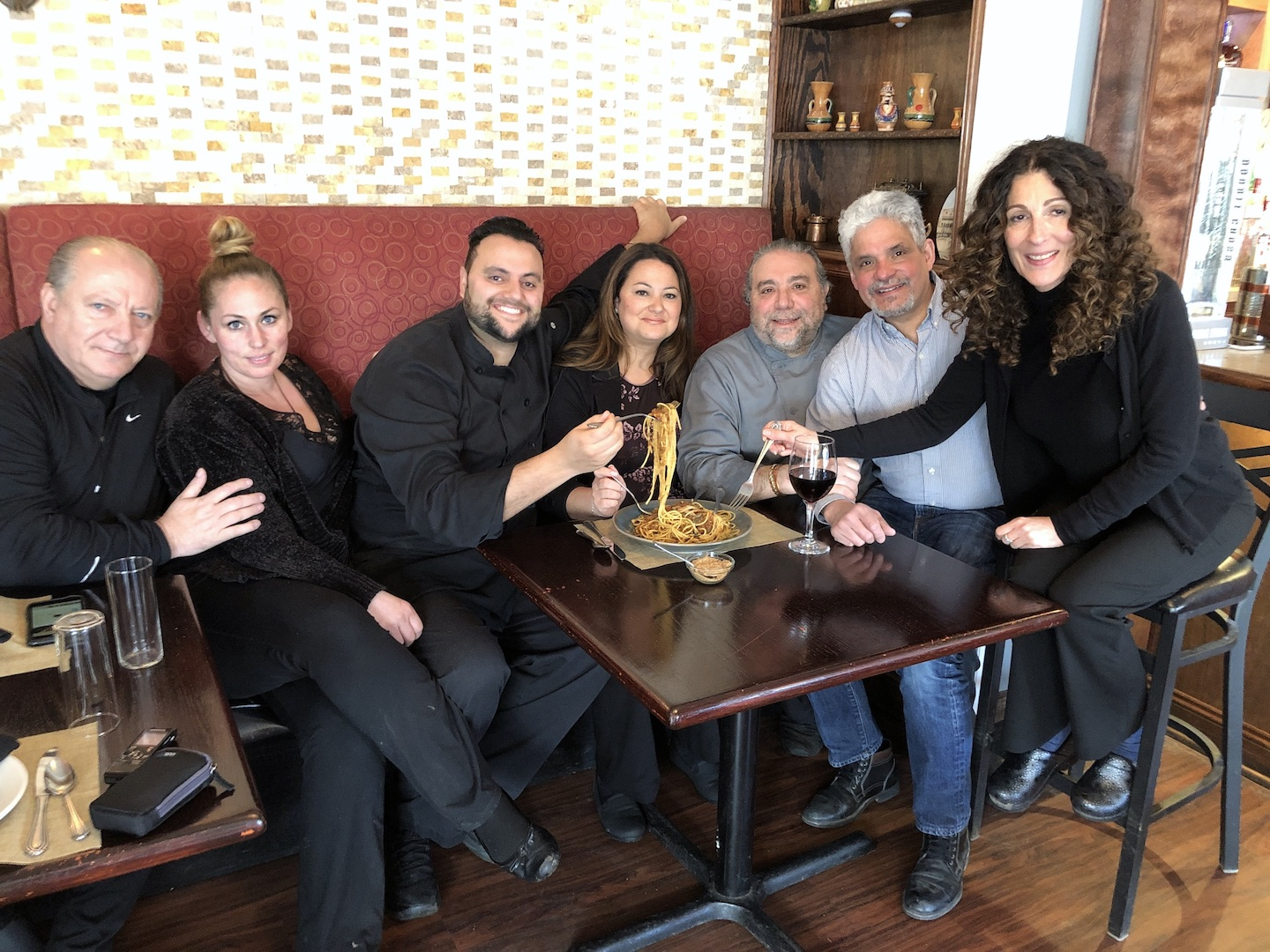 Everyone is family at Casa Antica in Lewiston.