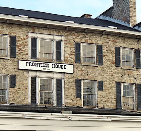 The historic Frontier House at at 460 Center St., in the Village of Lewiston.