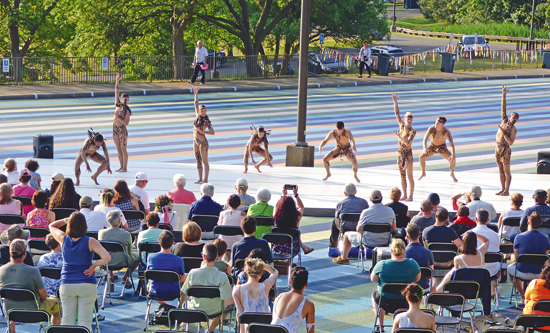 Shown are scenes from last year's Summer Solstice Celebration at Artpark. This is a performance by Lehrer Dance. (File photos)