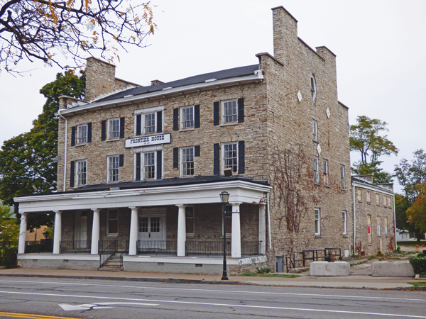 Pictured is the historic Frontier House at 460 Center St. (File photo)
