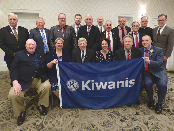 Members of the Kiwanis Club of Lewiston.