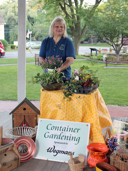 Kay Kalick shares some ideas for the container garden contest that will be held in Hennepin Park as part of GardenFest.