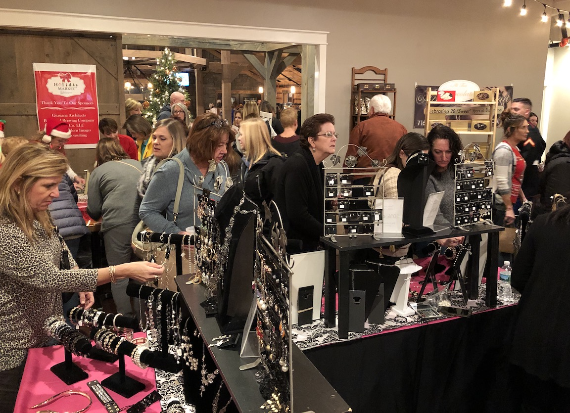 Willow Consulting's Holiday Market - normally held at the Brickyard Brewing Company, as shown in these file photos - is going virtual on Dec. 3. The event will once again raise funds for Toys for Tots.