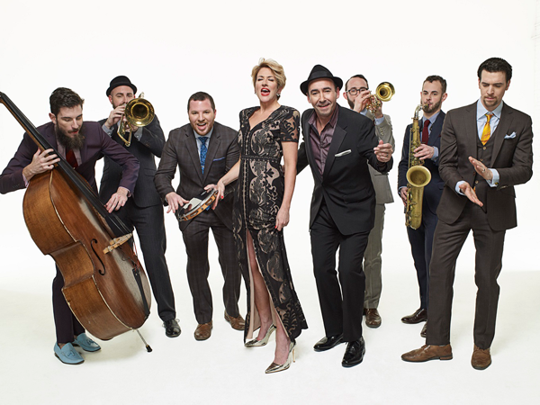 The Hot Sardines will headline this year's Jazz Festival on Saturday in Lewiston.