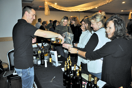 Shown are scenes from last year's Wine Tasting and Food Pairing event at Lewiston No. 1. (Submitted photos)