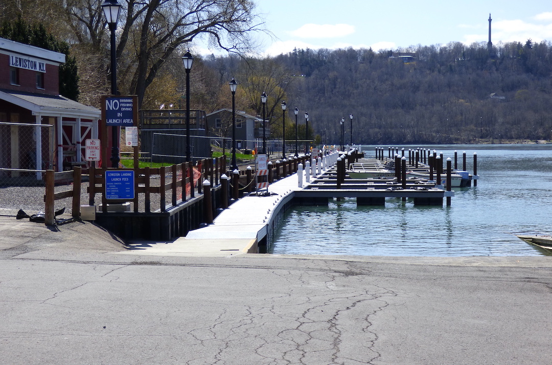 A look at the Village of Lewiston waterfront.