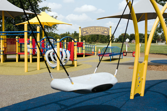 The Village of Lewiston is considering a playground similar to Mason's Mission Pendleton Park Playground. (Photo courtesy of Mason's Mission; https://masonsmissionfoundation.org)