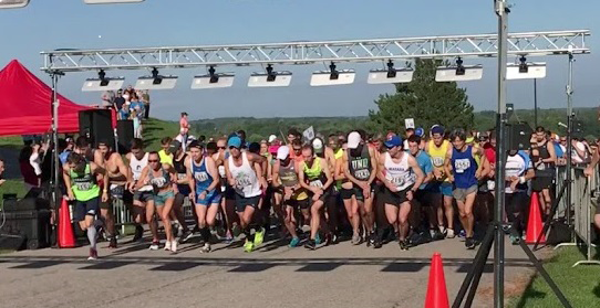 Runners at the start. (Submitted photo)