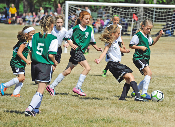 Pictured is a scene from last year's Niagara Pioneer Soccer League International Tournament. (File photo)