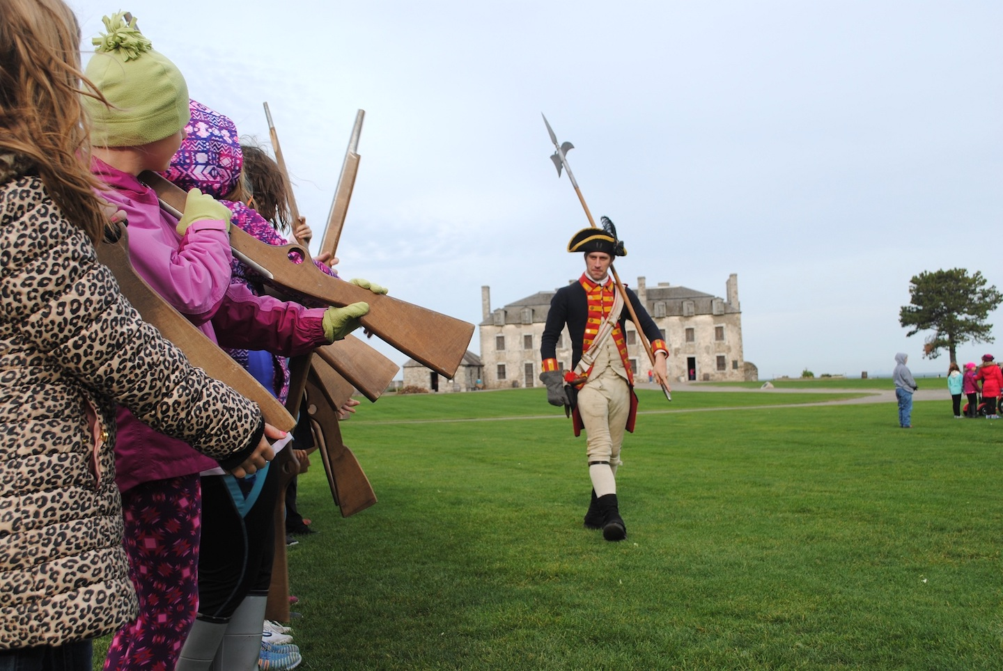 Old Fort Niagara Frontier Days. (Photo by Charlotte Clark)