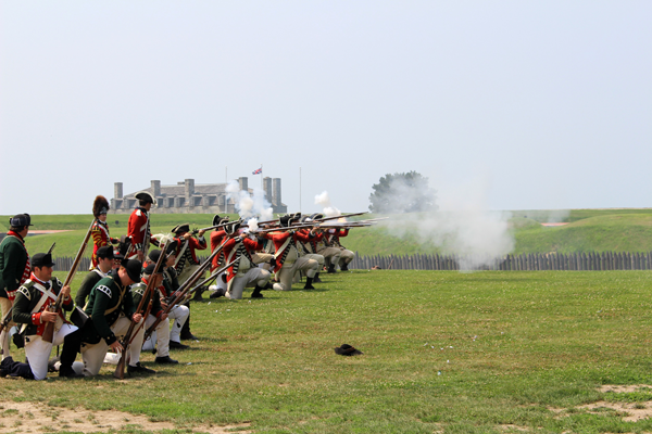 At 2 p.m. Aug. 5-6, battle demonstrations will happen at Old Fort Niagara depicting those that happened across the Niagara Frontier during the American Revolution.