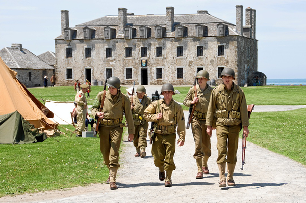 `Soldiers through the Ages` (Photo by Wayne Peters)