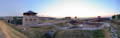 RIT Big Shot No. 33 is scheduled, rain or shine, for Sept. 29, when the photo team will point its cameras at historic Old Fort Niagara in Youngstown. (Credit: RIT Big Shot Team)