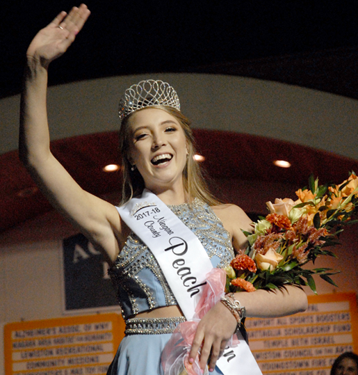 Peach Queen Jamie Hagerty. (File photo)