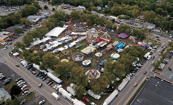 The Niagara County Peach Festival is the Kiwanis Club of Lewiston's signature event. (File photo)