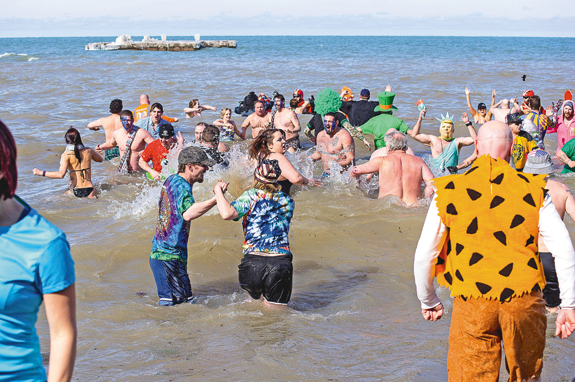 A look back at last year's Polar Bear Swim for Sight.