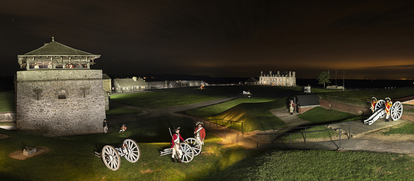 More than 800 people came out to Old Fort Niagara on Saturday night, helping make Rochester Institute of Technology's 33rd Big Shot photograph a picturesque success. (Photo courtesy of Rochester Institute of Technology) (Editor's note: This is a cropped version to accommodate layout. The full version is below)