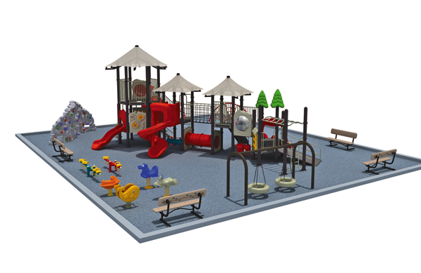 An artist's rendering of the proposed playground outside of St. Peter RC. School. (Image courtesy of St. Peter's)