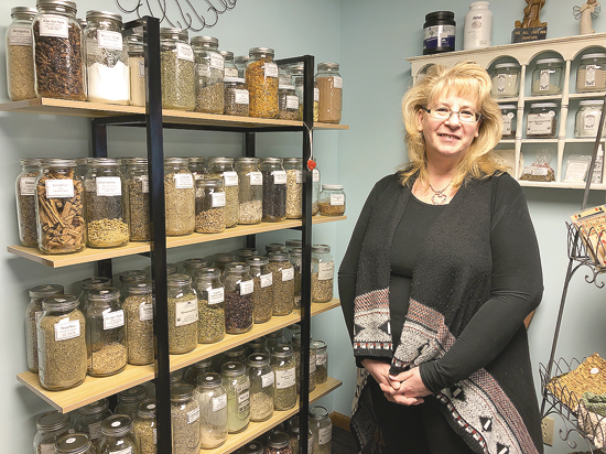 Marleen Brown of Crazy Train Natural Apothecary.